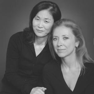 Susan McClelland and Lucia Jang